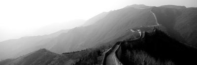 High Angle View of the Great Wall of China, Mutianyu, China Photographic Print by  Panoramic Images