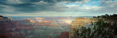 High Angle View of a Canyon, Angel's Window, North Rim, Grand Canyon National Park, Arizona, USA Photographic Print by  Panoramic Images