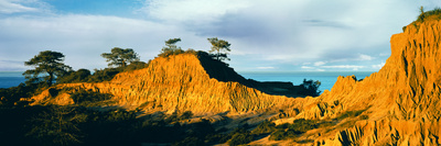 Rock Formations on a Landscape, Broken Hill, Torrey Pines State Natural Reserve, La Jolla Photographic Print by  Panoramic Images