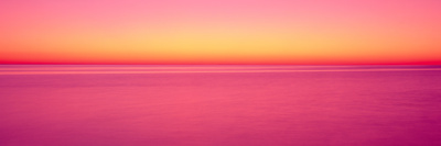 View of Ocean at Sunset, Cape Cod, Massachusetts, USA Photographic Print by  Panoramic Images