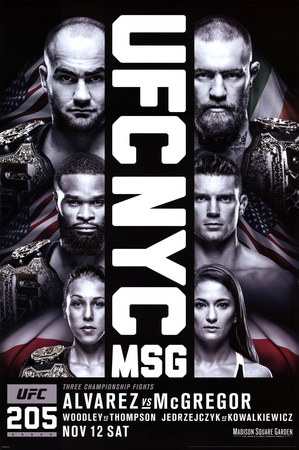 UFC- NYC 205 Prints