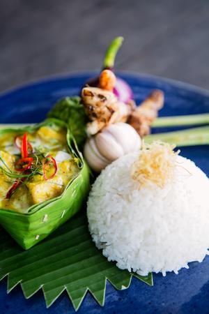 Thai Yellow Curry, Thailand, Southeast Asia, Asia Photographic Print by Alex Robinson