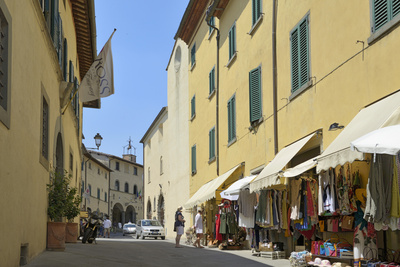 Shops in the Centre of the Old Town, Radda in Chianti, Tuscany, Italy, Europe Photographic Print by Peter Richardson