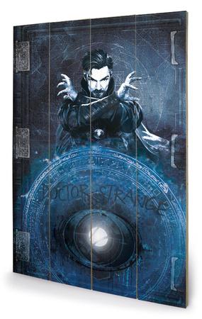 Doctor Strange Enchantment Træskilt