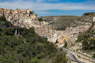 The Historic Hill Town of Ragusa Ibla, Ragusa, UNESCO World Heritage Site, Sicily, Italy, Europe Photographic Print by Martin Child