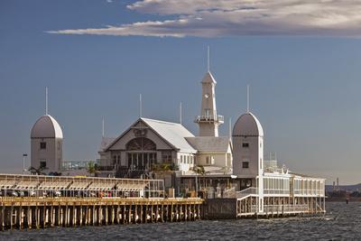 Cunningham Pier and Corio Bay, Geelong, Victoria, Australia. Photographic Print by Cahir Davitt
