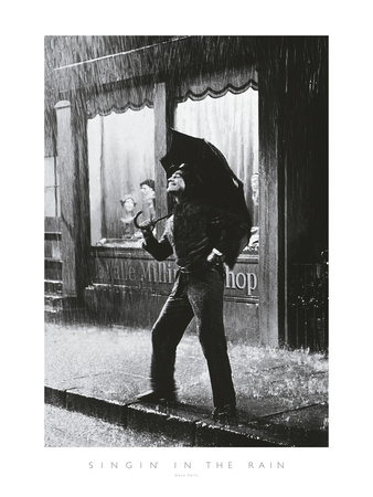 Singing in the Rain Giclee Print by  The Chelsea Collection