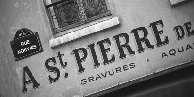 Paris Streets I Giclee Print by Tony Koukos