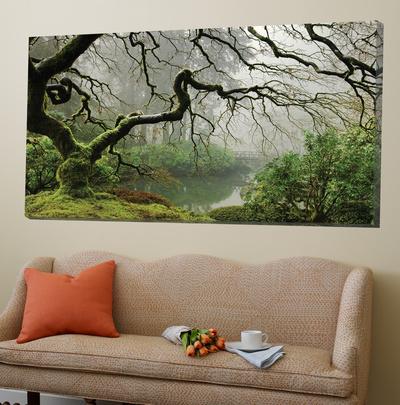 Garden Mist Posters by Don Schwartz