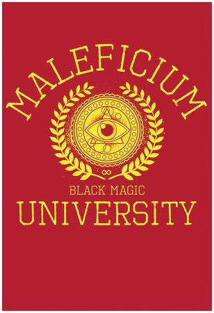 Maleficium Black Magic University Plakát