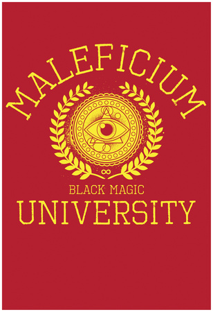 Maleficium Black Magic University Póster