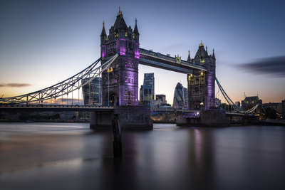 Tower Bridge Photographic Print by Giuseppe Torre