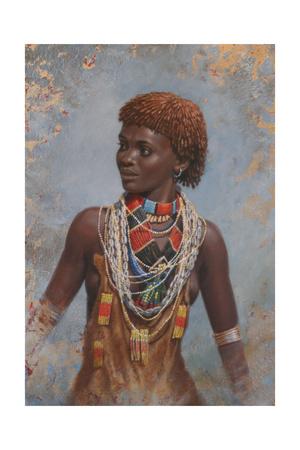 Hamma Girl Giclee Print by Michael Jackson