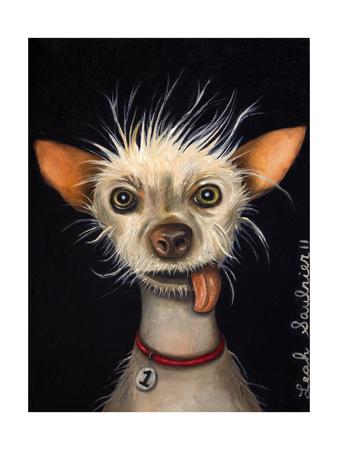 Ugly Dog Giclee Print by Leah Saulnier