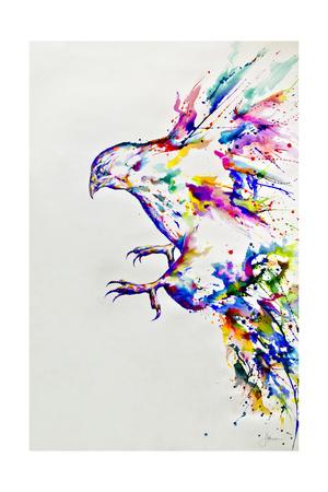 Descent Giclee Print by Marc Allante