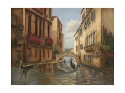Gondola II Giclee Print by Judy Mastrangelo