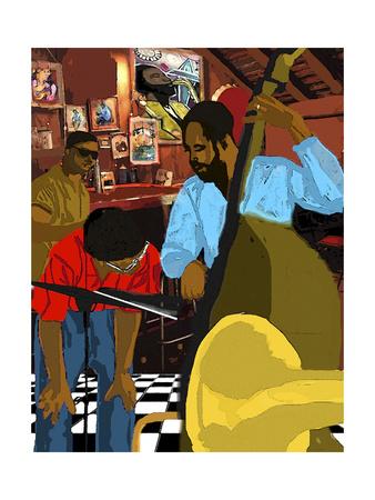 Menin Bar Giclee Print by  Shacream Artist