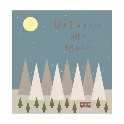 Life's a Journey Giclee Print by Tammy Kushnir
