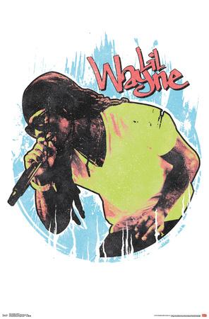 Lil Wayne- Rap Icon Posters