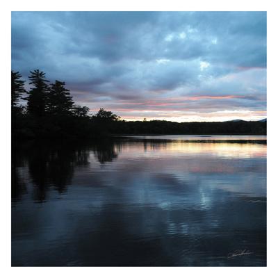 Sunset Lake Pink 1 Prints by Suzanne Foschino