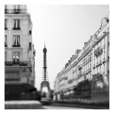 Dawn Paris Prints by Tracey Telik