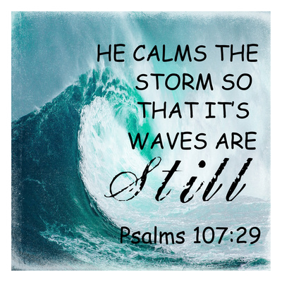 He Calm The Storm Prints by Sheldon Lewis