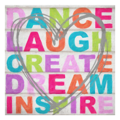 Dance Laugh Poster by Taylor Greene
