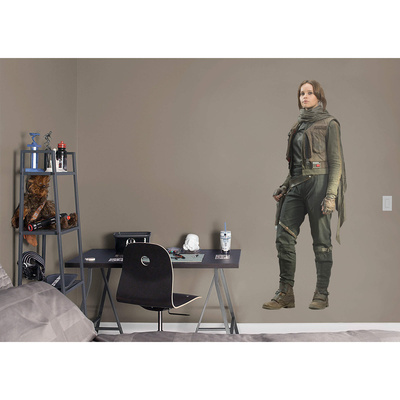 Star Wars Rogue One - Jyn Erso RealBig Wall Decal