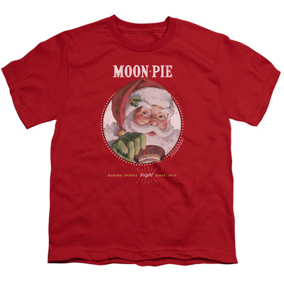 Youth: Moon Pie- Snacks For Santa T-shirts