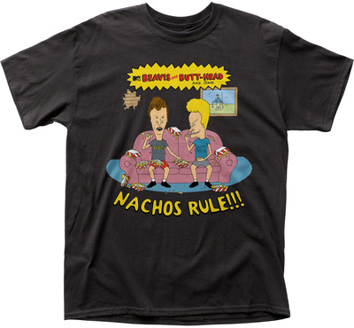 Beavis And Butt-Head- Nachos Rule T-shirts