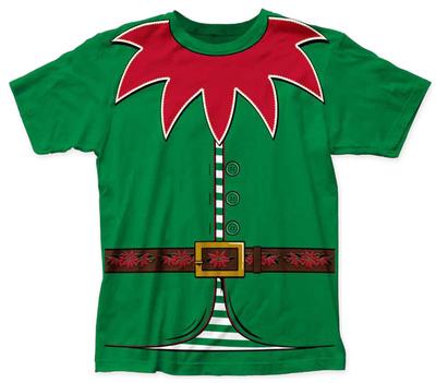 Holly Jolly Elf Costume Tee T-Shirt