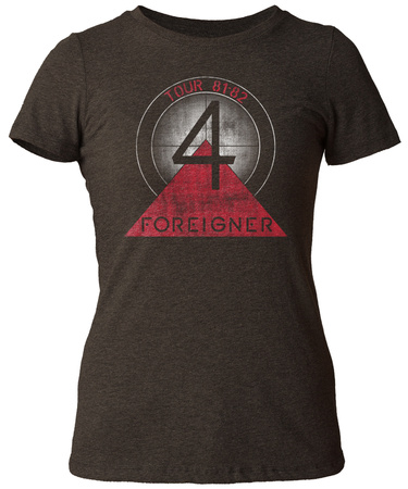 Juniors: Foreigner- Album 4 Tour 81-82 T-shirts