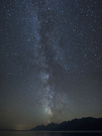 Milky Way Above the Teton Mountain Range Photographic Print by Charles Smith