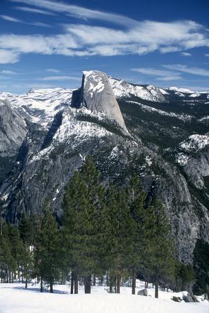 Half Dome in Yosemite National Park Photographic Print by Cagan Sekercioglu