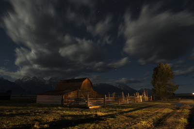 Moulton Barn in Grand Teton National Park Photographic Print by Charles Smith