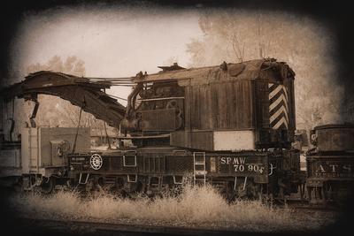 Work Train Art by George Johnson