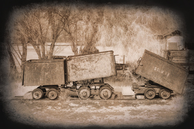 Mine Cars Posters by George Johnson