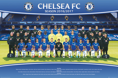 Chelsea FC- Team 16/17 Posters