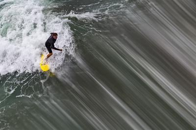 Oceanside Surf II Print by Lee Peterson