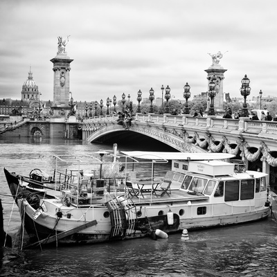 Paris sur Seine Collection - Alexandre III Bridge V Photographic Print by Philippe Hugonnard