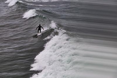 Oceanside Surf I Prints by Lee Peterson