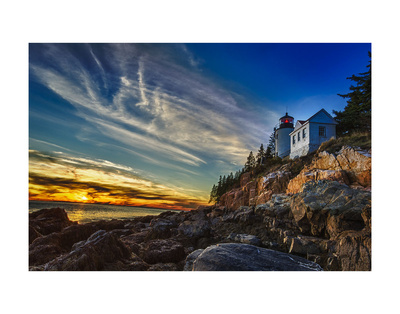 Bass Harbor Lighthouse Prints by Robert Lott