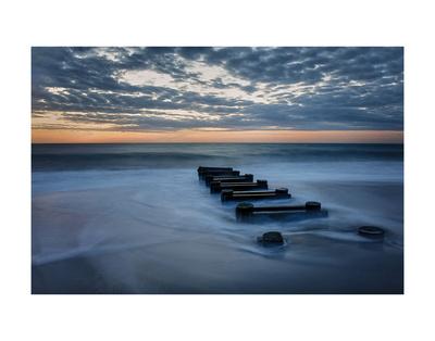 Outfall at Sunrise 4 Print by Robert Lott