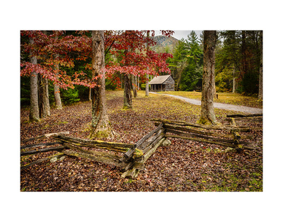 Smokies Cabin Prints by Robert Lott