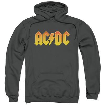 Hoodie: AC/DC- Gold Block Logo Pullover Hoodie