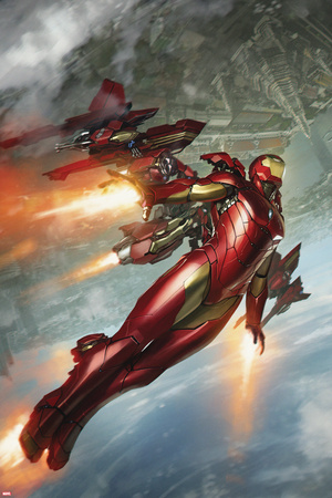 International Iron Man No. 3 Cover Art Posters by  Skan