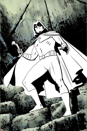 Moon Knight No. 4 Panel Posters by Greg Smallwood