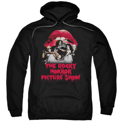 Hoodie: Rocky Horror Picture Show- Casting Throne Pullover Hoodie
