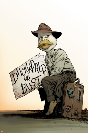 Howard the Duck No. 8 Cover Art Prints by Butch Guice