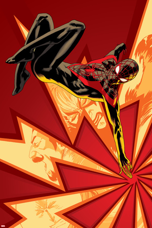 Spider-Man No. 6 Cover Art Featuring: Ultimate Spider-Man Morales Prints by Kris Anka